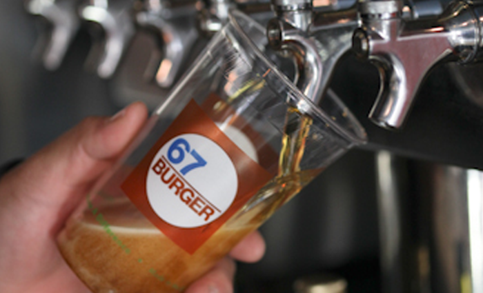 Draft Beer | 67 Burger